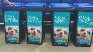Pet Food Donation Stations